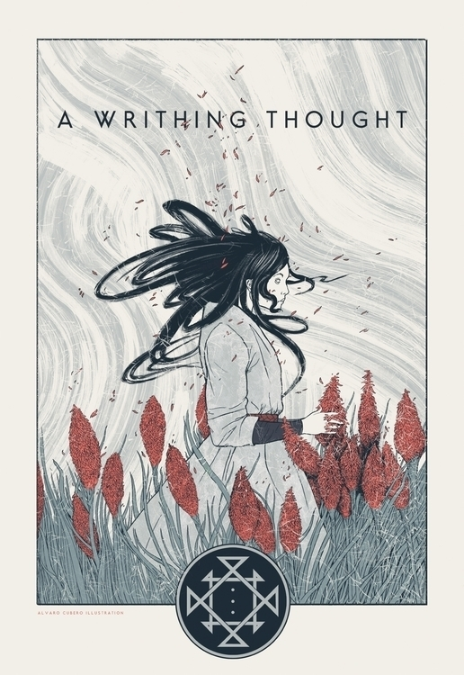 Writhing Thought Poster - alvarocuberoillustration | ello