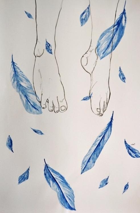 art, illustration - canhair | ello