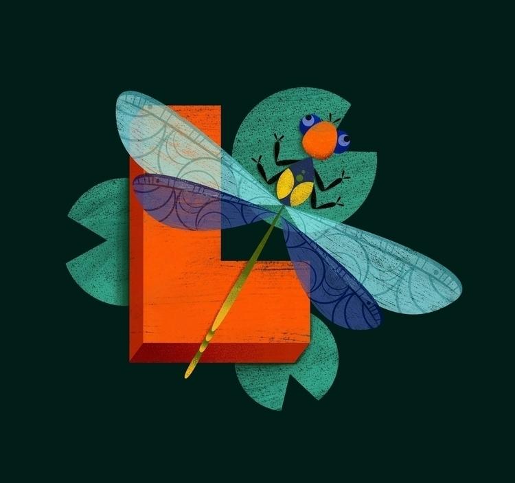 Libelle (germ. Dragonfly) Perso - johannaspringer | ello