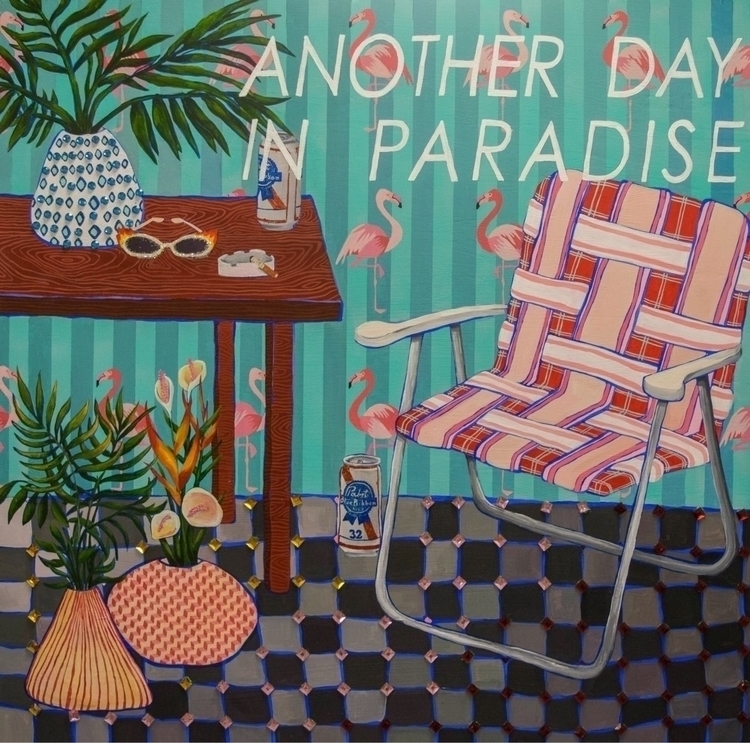 day Paradise - pattern, design, everyday - tarravechia | ello