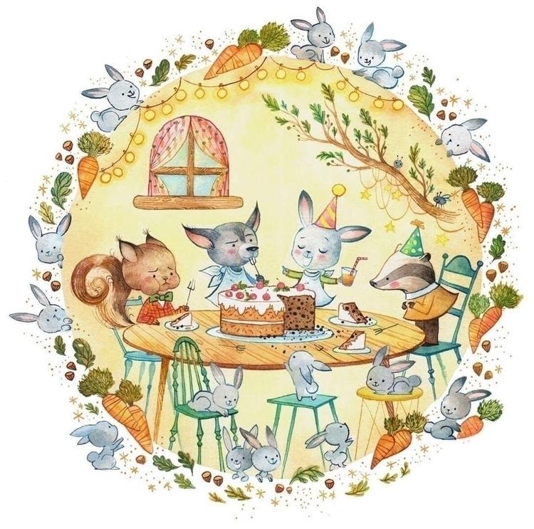 Rabbit poop cake - artist - talltreesofparis - helliongallery | ello