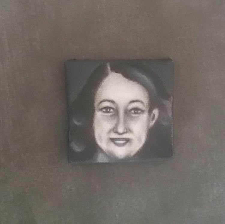 Miniature portrait KAREN HUDES  - nora_ | ello