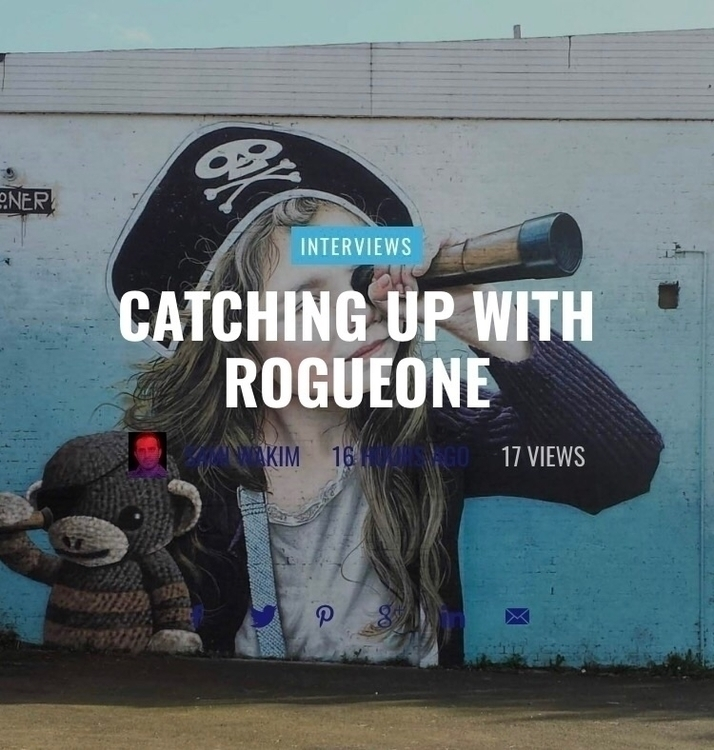 Check interview Rogue website:  - streetartunitedstates | ello