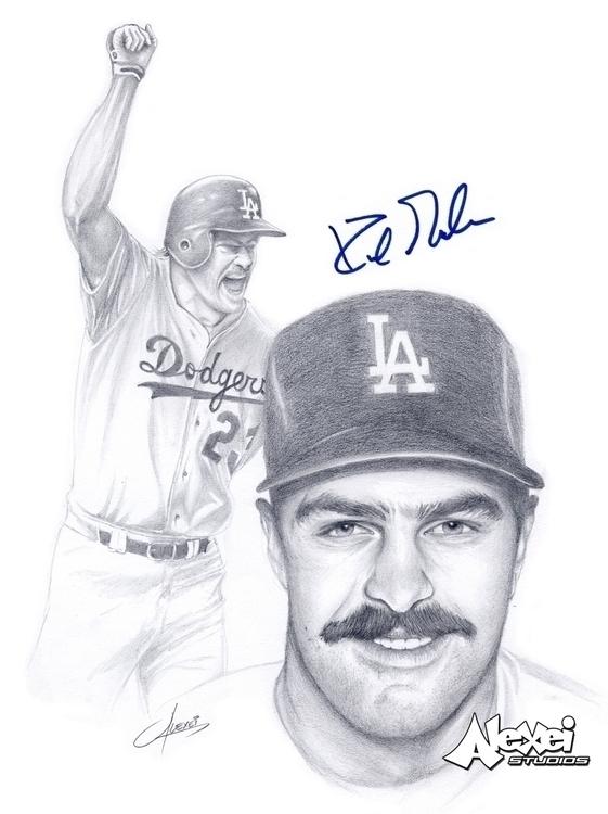 LA Dodgers Legend Kirk Gibson 1 - alexei5000 | ello