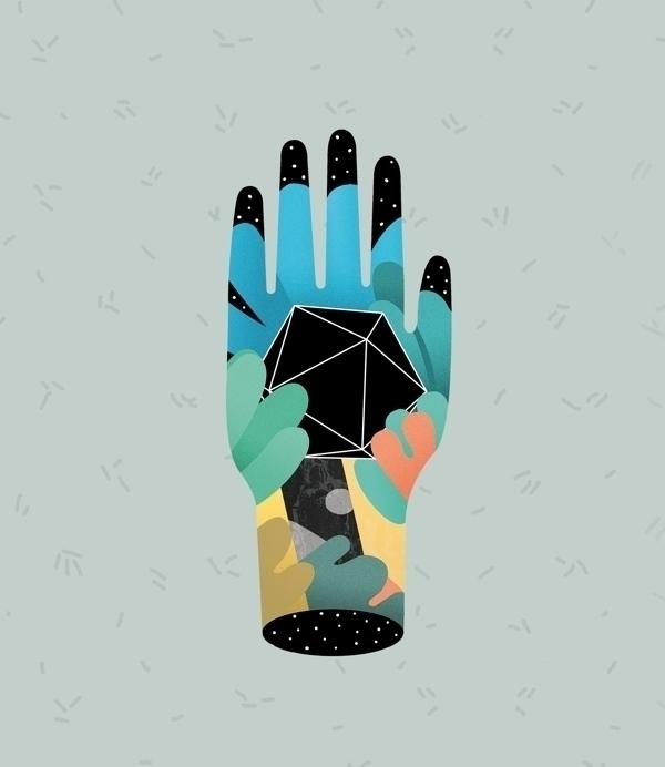 magic, hand, illustration, NYC - casmiclab | ello