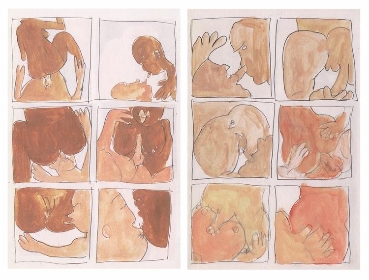Gregory Joveniaux - nsfw, comicstrip - particulescreatives | ello