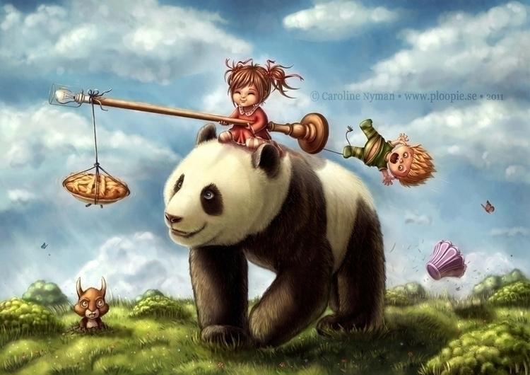 Panda Ride  - ploopie | ello