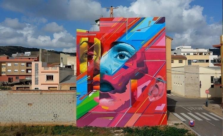 Castellón Wall. Combo collabora - uriginal | ello
