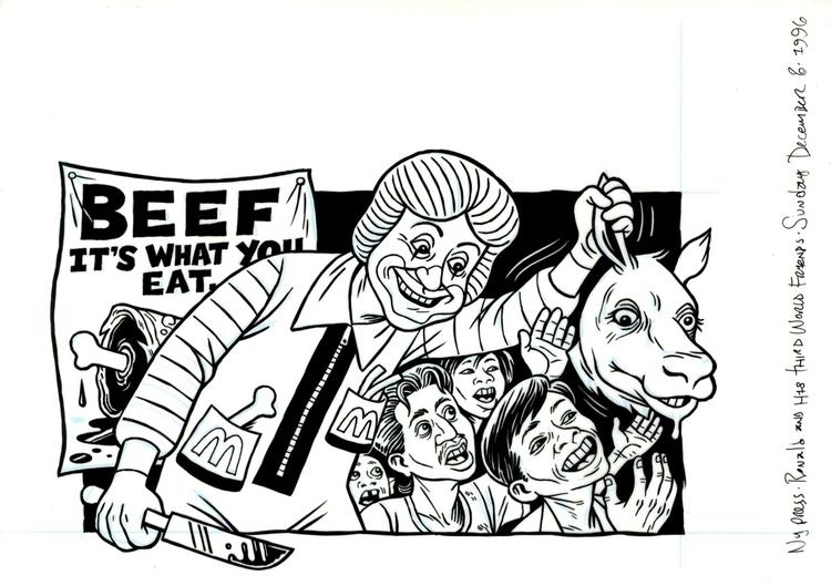 Ronald McDonald illo NYPress, 1 - dannyhellman | ello