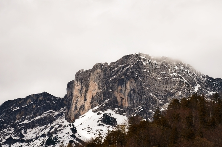 mountain, BGL, snow, clouds, landscape - wh04m1 | ello