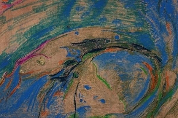 abstraction (fish) Joanna Lipps - jlipps7 | ello