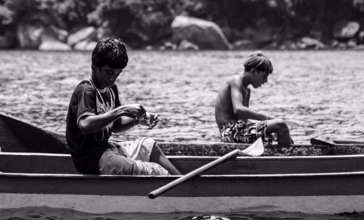 Jovens Pescadores em Ponta Negr - nipasserani | ello