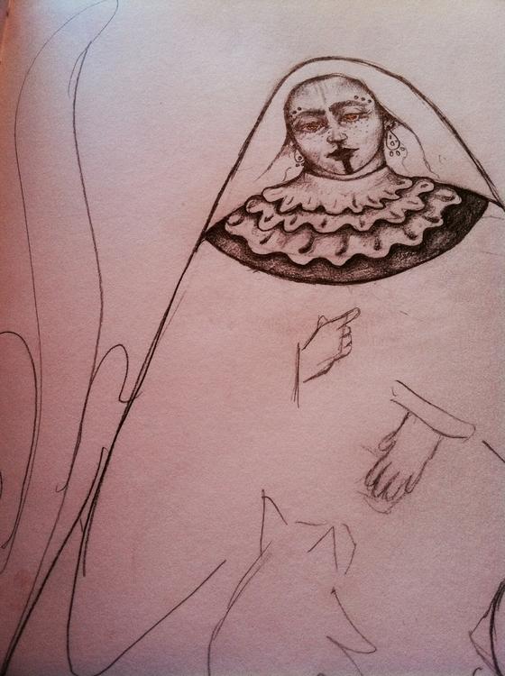 Sketchy Saturday - folkart - opographics | ello