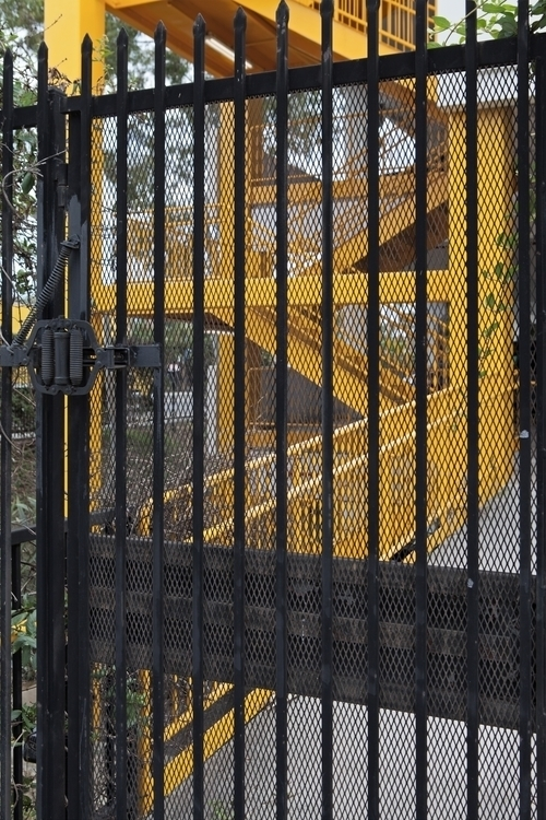 Security Gate, Parking Structur - odouglas | ello