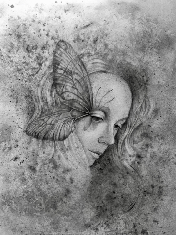 art, drawing, portrait, watercolor - laurapedrettiart | ello