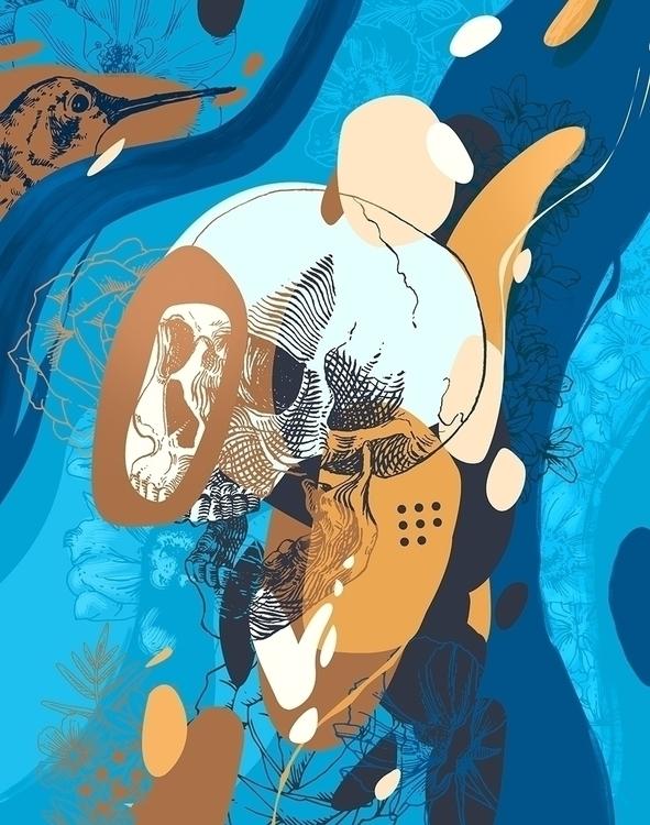 Late night experiment - illustration - rafbanzuela | ello