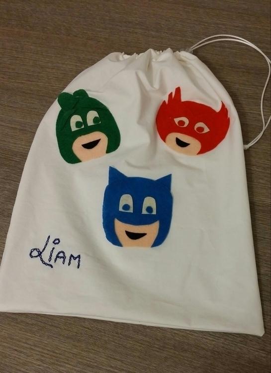 sacca, pjmasks, bag, boy, liam - arteacolori | ello