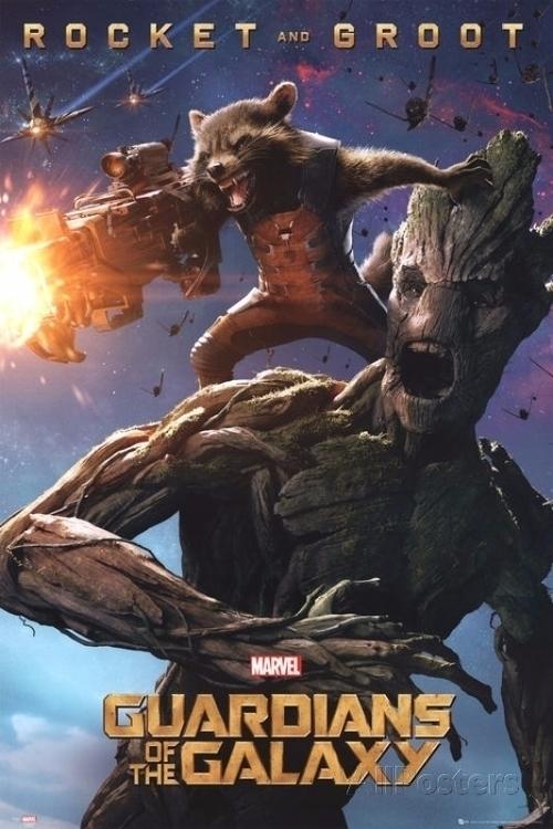 Guardians Galaxy - Rocket Groot - sfaart | ello