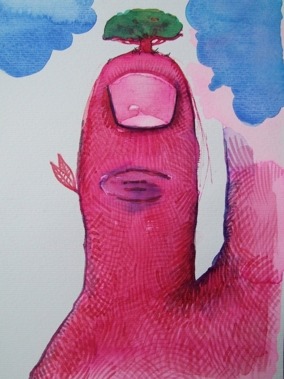 Polegárvore Watercolour - euric | ello