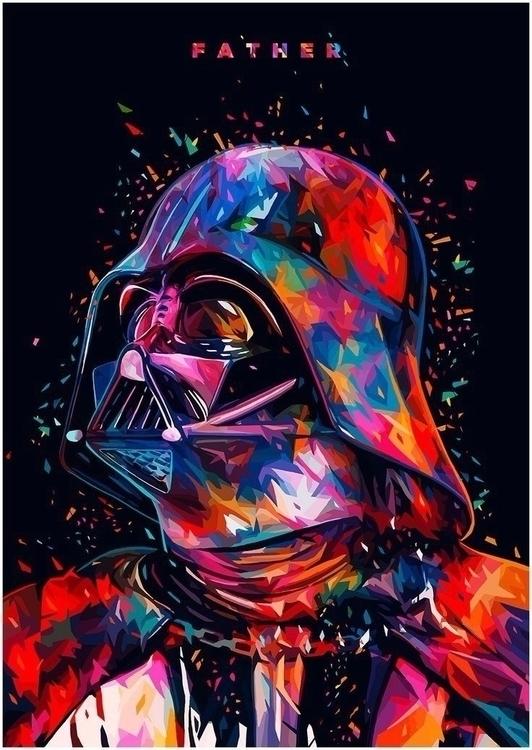 Star Wars Darth Vader Poster - art - sfaart   ello