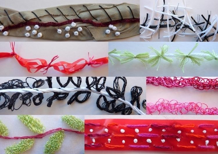 Yarn Concepts (created textiles - firehorsetextiles | ello