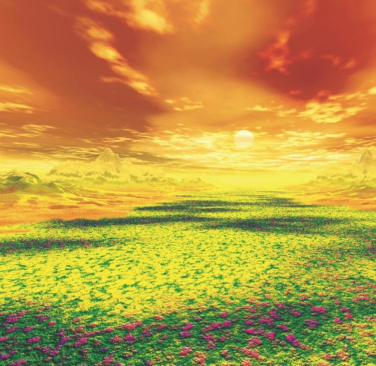 «Рассветы и закаты» - неокончен - andreyklimkovsky   ello