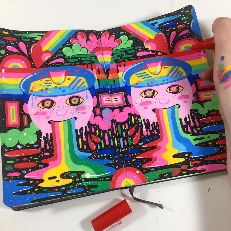 weeks sketchbook page - moleskine - ms_wearer | ello