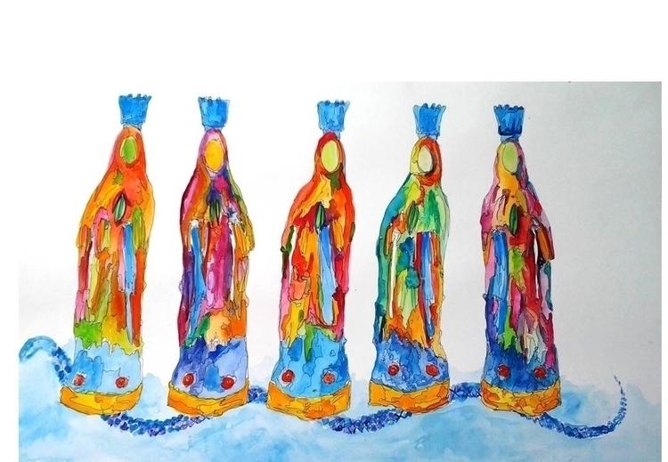 miracle Virgin Mary. recognize  - pattygi | ello