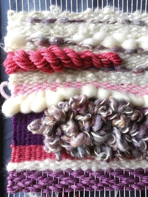 texture - weaving, weaveweird, textile - amandajfrench | ello