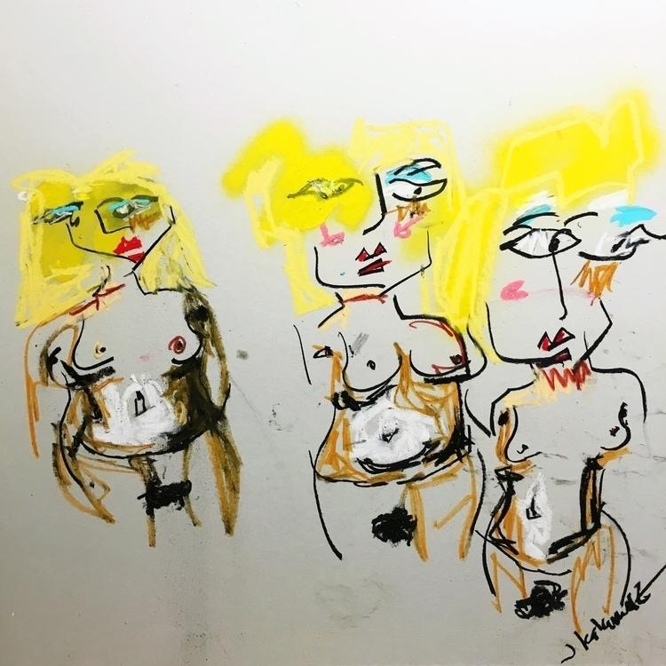 Women Bordeaux - art - jkalamarz | ello