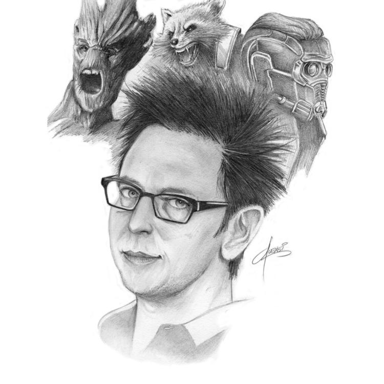 Guardians Galaxy director write - alexei5000 | ello