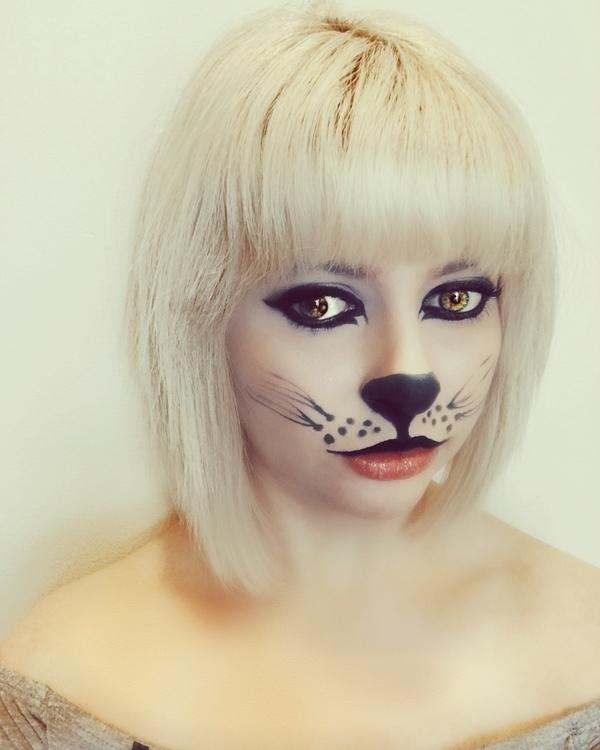 Feeling feline - makeup, Halloween - ktpitney   ello