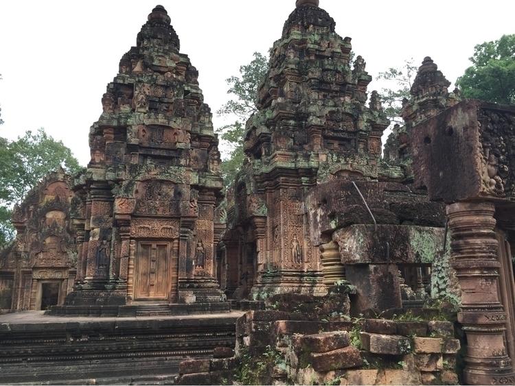 Angkor Watt, Cambodia - exinerartstudio | ello