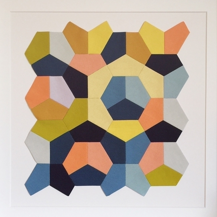 kind textile wall art. Part Qui - skinnymalinkyquilts | ello