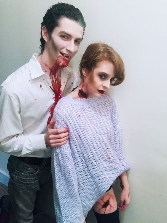 Vampire Makeup - Halloween, Halloweenmakeup - ktpitney | ello