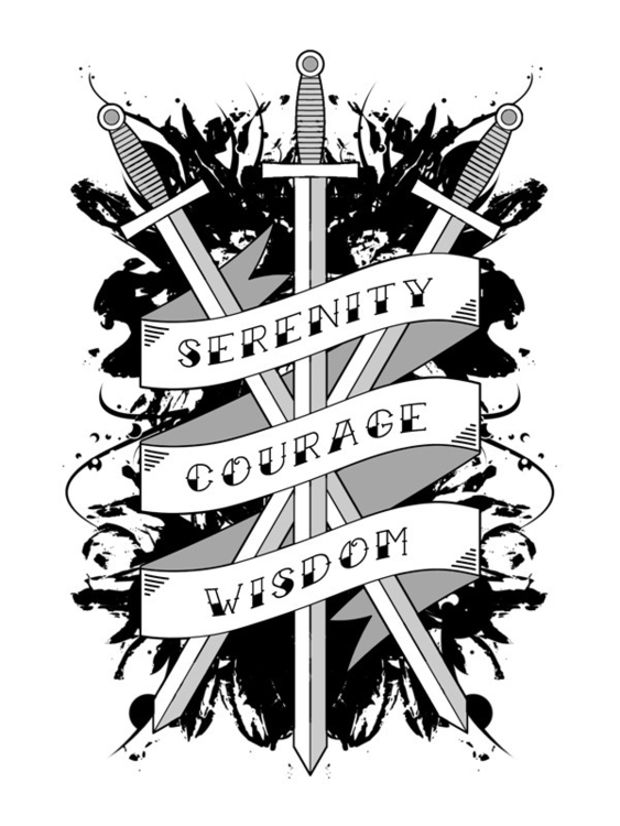 Serenity, Courage Wisdom - dssken | ello
