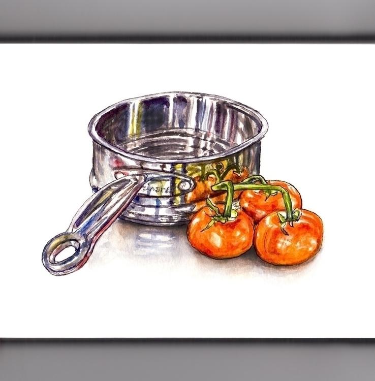 Sparkles - watercolor, watercolour - doodlewash   ello