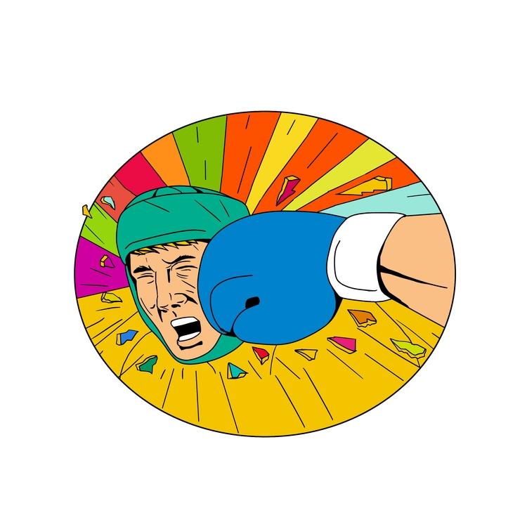 Boxer Hit Glove Oval - Amateur# - patrimonio | ello