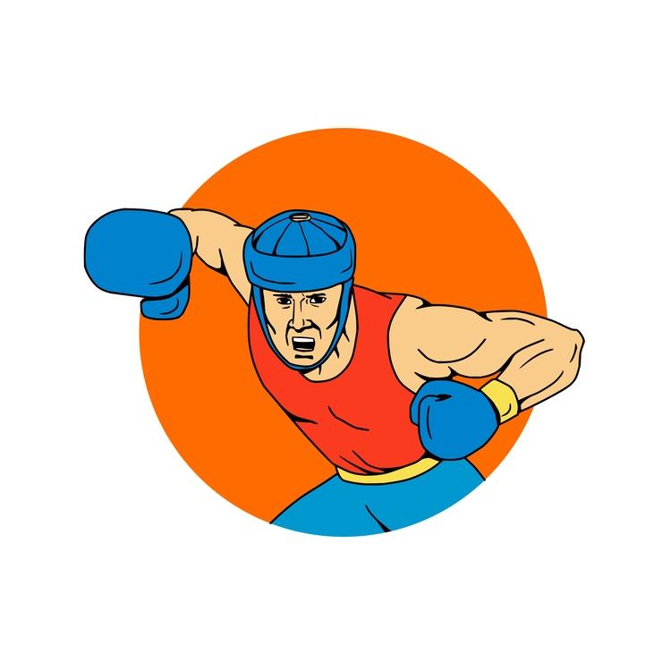 Overhead Circle - Amateur, Boxer - patrimonio | ello