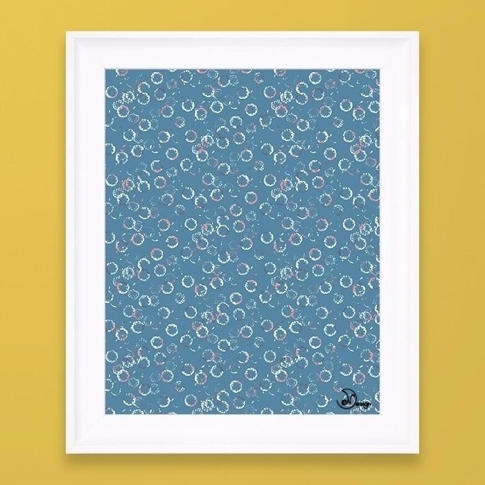 Polka Dots Stamps Niagara - pattern - designdn | ello