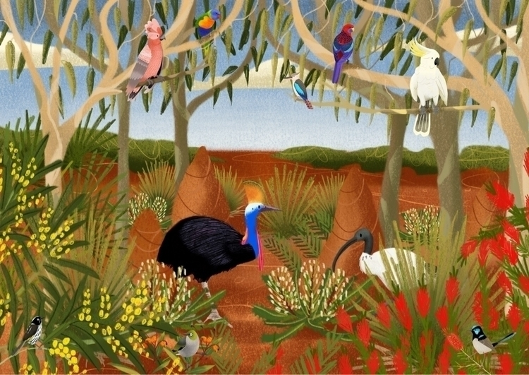 Birds - illustration - doodlesmarc | ello