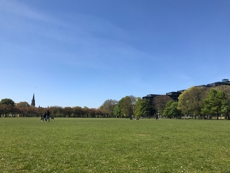 Meadows - Edinburgh, ShotOniPhone - elloscotland | ello