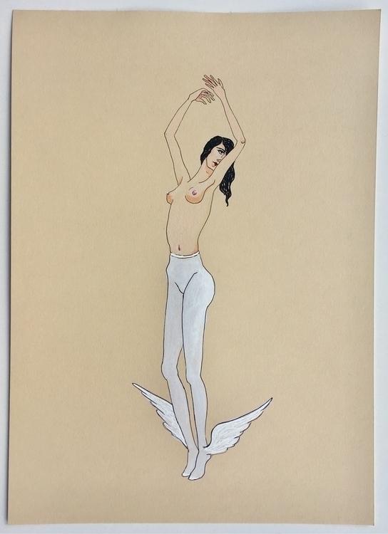 Magical Stockings - kunst, drawing - lorettamae | ello