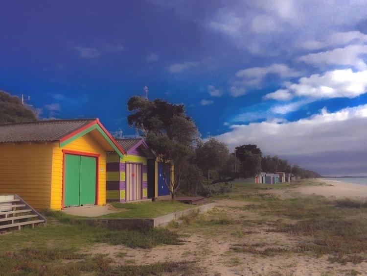 bathing boxes. Dromana - Melbourne - sacrecour   ello