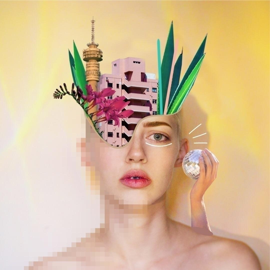 Collage Collaboration. Images N - curious_lauren | ello