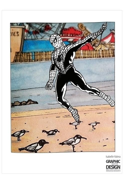 Narcissistic Spider (Spiderman  - ivalera | ello