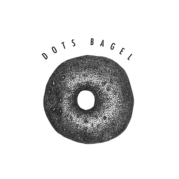 Bagel drawn dots - romainzampieri | ello