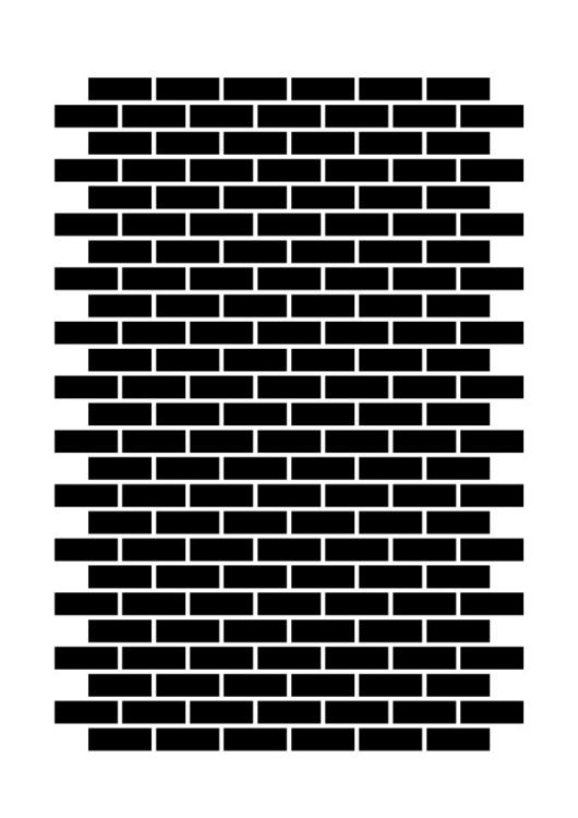 Brick brick - poster, graphic, design - benja_d | ello