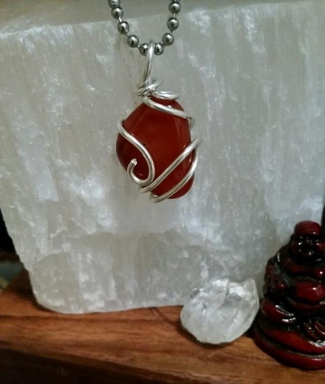 Carnelian stone creativity, ind - elevatingvibrations | ello