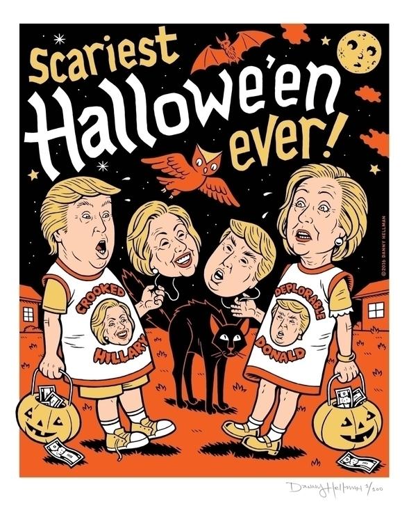 $40 Scariest Halloween Election - dannyhellman | ello